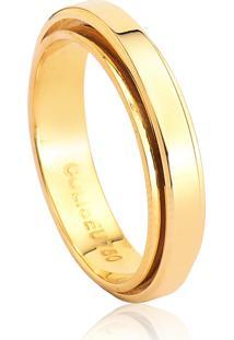 Aliança De Casamento Em Ouro 18K 4,8Mm