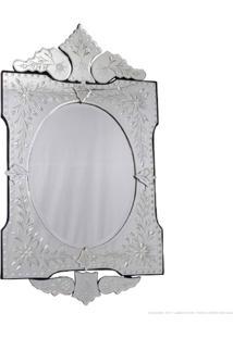 Espelho Decorativo Leandro Martins Prata - Antonio E Filhos