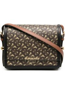 Burberry Sm Grace Shoulder Bag - Marrom