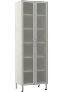 Módulo Cozinha Torre Lis 2 Portas - 70Cm - 2581/500 - Alumínio - Prime Plus - Luciane