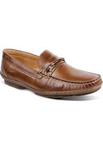 Sapato Masculino Loafer Sandro Moscoloni New Picasso Marrom