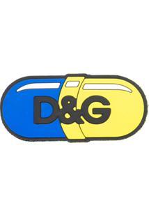 Dolce & Gabbana Patch Com Logo - Azul