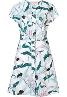 Tory Burch Vestido Evasê Floral - Estampado