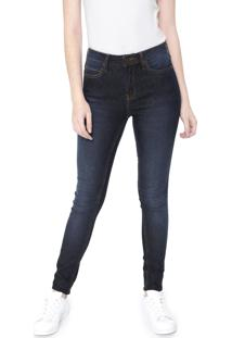 Calça Jeans Calvin Klein Jeans Skinny Five Pockets Azul
