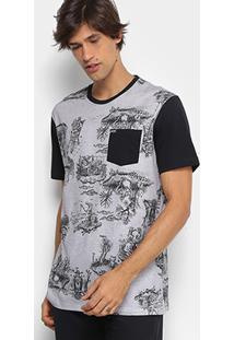 Camiseta Mcd Especial Toile Bizarre Masculina - Masculino