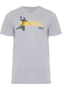 Camiseta Masculina Indoor Handball - Cinza