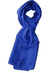 Lenço Zohar Azul Royal