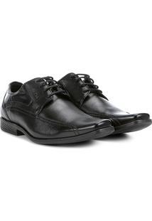 Sapato Conforto Couro Ferracini Duomo Amarração - Masculino