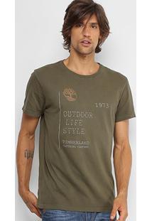 Camiseta Timberland Mountain State Masculina - Masculino