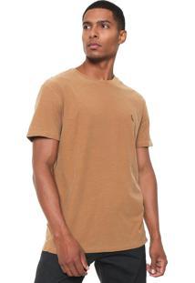 Camiseta Reserva Flame Estonada Marrom