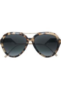 Fendi Eyewear Óculos De Sol 'Ff 0322' - Marrom
