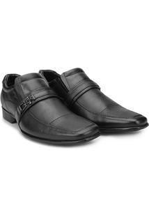 Sapato Social Couro Mariner Smart - Masculino-Preto