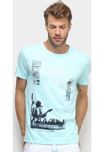 Camiseta Calvin Klein Jeans Show Masculina - Masculino-Verde Claro