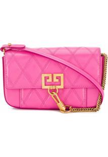 Givenchy Bolsa Transversal Pocket Mini - Rosa
