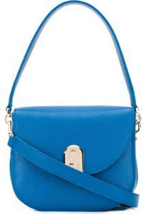 Furla Bolsa Tiracolo Sleek S - Azul