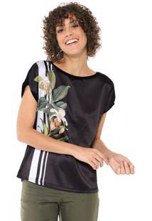 07de22033 Blusa Floral Mercatto feminina | Shoelover