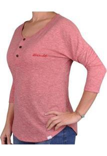 Camiseta O'Neill Erie Feminina - Feminino-Coral