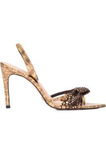 Sandália Feminina Toscana - Dourado