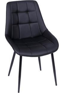 Cadeira Provence- Preta- 84X50X42,5Cm- Or Designor Design