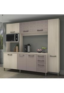 Cozinha Compacta E780 Amêndoa/Moka - Kappesberg