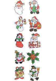 Adesivos Decorativos Natalinos Sortidos