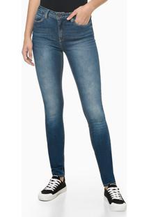 Calça Jeans Premium Stretch - Azul Marinho - 36