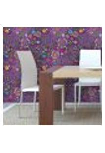 Papel De Parede Autocolante Rolo 0,58 X 5M - Floral 136971668