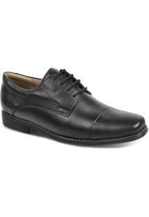 Sapato Social Masculino Derby Sandro & Co Edsel - Masculino-Preto