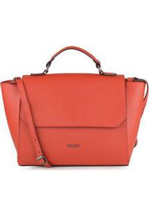 Bolsa Shoulder Bag Couro Clássica Vermelho - Vermelho/Un