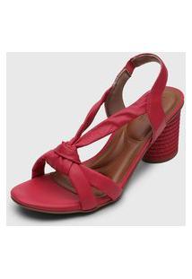 Sandália Usaflex Puffy Pink