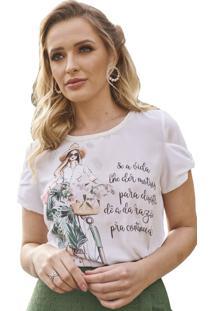 T-Shirt Fascinius Samila Off White