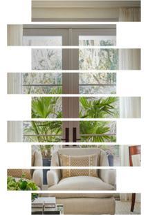 Espelho Love Decor Decorativo Listras Único - Kanui
