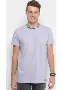 Camiseta Colcci Com Gola Estampada Masculina - Masculino