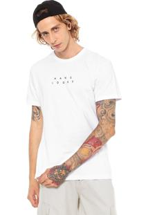 491441185c2fd Camiseta Branca Hang Loose masculina