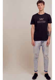 Camiseta Com Estampa Signo Leão