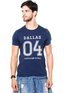 Camiseta Rgx Dallas American Football Azul