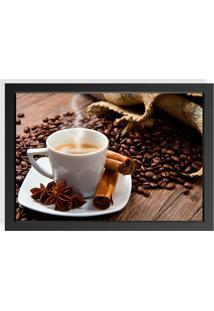 Quadro Love Decor Decorativo Coffee Preto