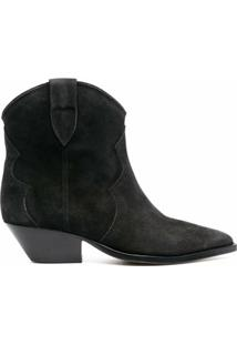 Isabel Marant Dewina 40Mm Ankle Boots - Preto
