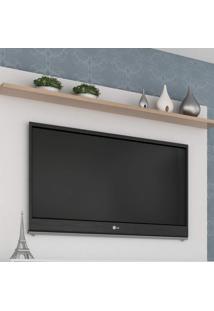 Painel Para Tv Até 42 Polegadas 1 Prateleira Benevello Quiditá Móveis Branco
