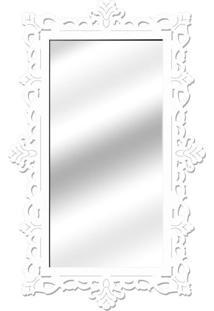 Espelho De Parede 14848B Branco 70X110 Art Shop