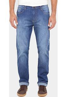 Calça Jeans Forum History Indigo Masculina - Masculino-Jeans