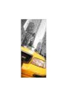 Adesivo Decorativo De Porta - Nova Iorque - 069Pt-P Auto Colante