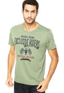 Camiseta Colcci Riders Verde