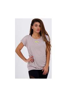 Camiseta Fila Drapped Ii Feminina Rosa