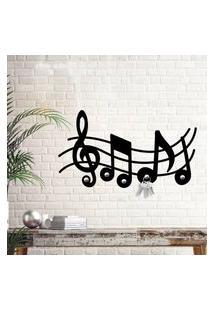 Porta Chaves Notas Musicais Único