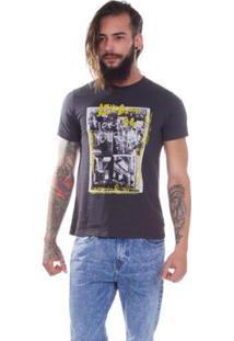 Camiseta Levis Photo - Masculino-Cinza
