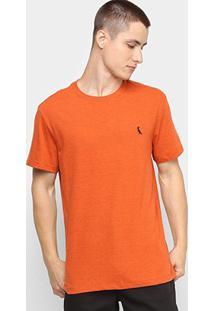 Camiseta Reserva Manga Curta Masculina - Masculino-Laranja