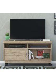 Rack Para Tv 1 Porta Artur 389022 Rustico - Madetec