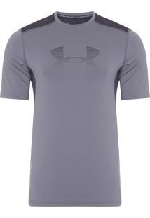 Camiseta Masculina Raid Graphic - Cinza