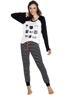 464c0c600 ... Pijama Inspirate De Inverno Listra Feminino - Feminino